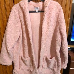 Old Navy XL Fleece Hooded cardigan
